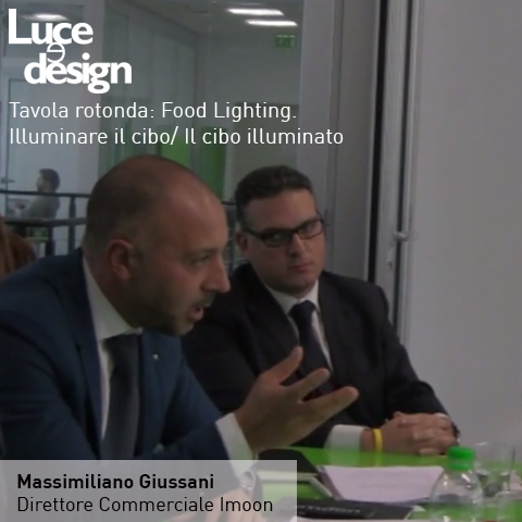CON LUCE E DESIGN ALLA TAVOLA ROTONDA SUL FOOD LIGHTING