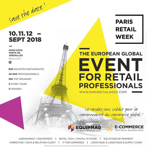 Alla Paris Retail Week 2018!