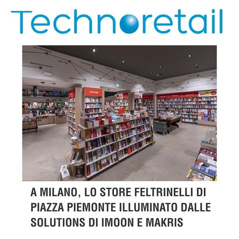A Milano, lo store Feltrinelli di Piazza Piemonte illuminato dalle solutions di Imoon e Makris
